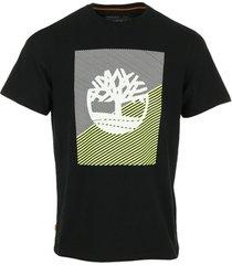 t-shirt korte mouw timberland graphic regular tee