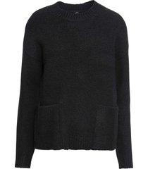 maglione con tasche (nero) - rainbow