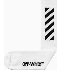 off-white diag mid length socks omra001r20120018