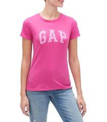 camiseta fucsia gap