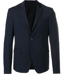 prada travel blazer jacket - blue