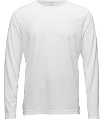 ls tee t-shirts long-sleeved vit calvin klein performance