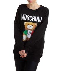moschino italian teddy sweatshirt