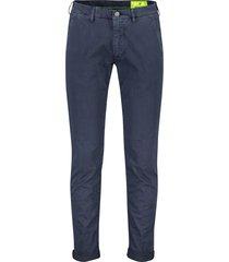 mason's pantalon donkerblauw fluor flatfront