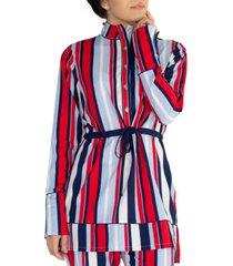 verona giorgia striped modest top