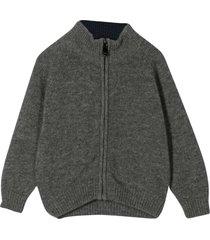 il gufo gray turtleneck sweater
