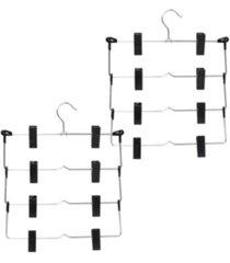 honey can do 2-pk. 4-tier fold up skirt hanger