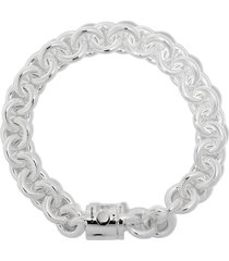 le gramme chunky maillon bracelet - silver