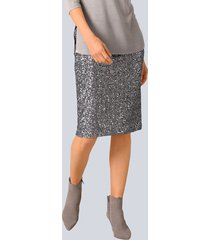rok alba moda grijs