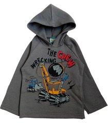 casaco infantil tileesul blusa moletom capuz frio touca