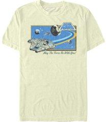 men's star wars falcon short sleeve t-shirt