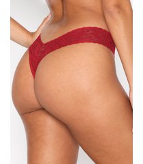 hanky panky thong low rise string red