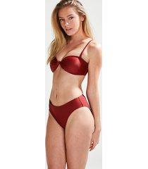 hunkemöller rio-bikiniunderdel med hög midja cali doutzen röd