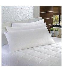 travesseiro agarradinho 50x90cm penas e plumas 233 fios plumasul