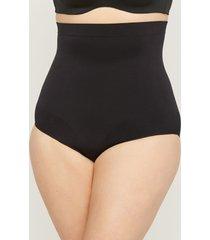 seamless hi-waist shaping brief