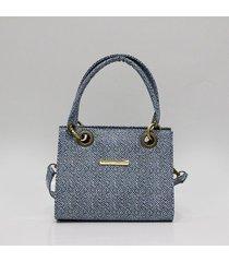 bolso estampado azul para mujer vent bolso vent_a est_azul-u