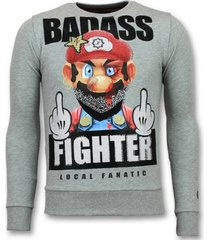 sweater local fanatic mario trui - fight club sweater -
