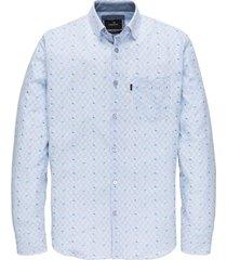 vanguard sleeve shirt stripe with vsi202239/5036 licht blauw