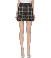 'spencer' plaid cargo skirt