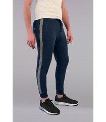 pantalón azul rever pass side cut
