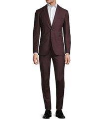 2-piece wool, mohair & silk slim-fit suit