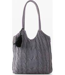 borsa in maglia (grigio) - bpc bonprix collection