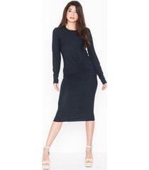 jacqueline de yong jdynola l/s striped dress jrs långärmade klänningar