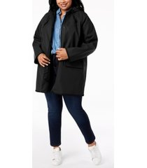 levi's plus size hooded rain jacket