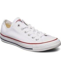all star canvas ox låga sneakers vit converse