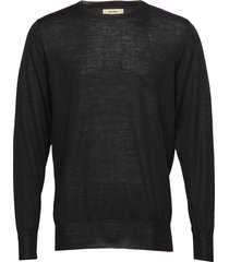 icky gebreide trui met ronde kraag zwart whyred