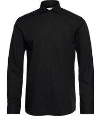 bs aspen skjorta casual svart bruun & stengade