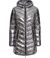 giacca trapuntata metallizzata (grigio) - bodyflirt