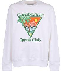 casablanca printed sweatshirt