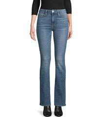 frame denim women's le mini bootcut jeans - larkspur - size 24 (0)