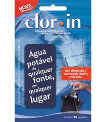 cloro orgânico purificador de água - acuapura