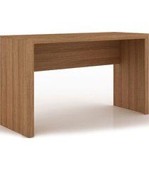 mesa escritório amêndoa me4135 tecno mobili videira