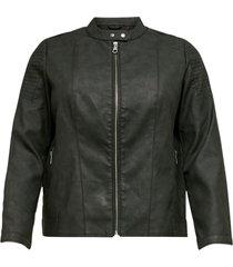 jacka carmelanie faux leather jacket