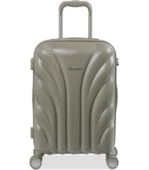 """it luggage cascade 21"""" carry-on spinner suitcase"""