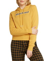 dickies juniors' logo-print hooded sweatshirt