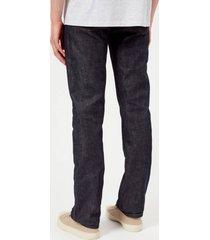 a.p.c. men's new standard mid rise straight leg jeans - indigo - w30 - blue