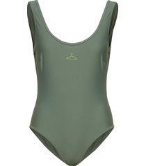 victoria swimsuit ss19 baddräkt badkläder grön holzweiler