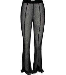 abie casual broek zwart hofmann copenhagen
