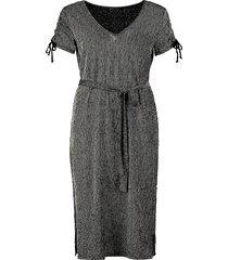 202fiona tricot streep jurk