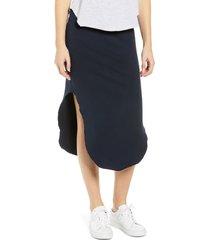 women's frank & eileen tee lab fleece midi skirt
