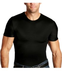 men's big & tall insta slim compression short sleeve crew-neck t-shirt