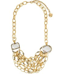 camila klein lais beethoven mid-lenght necklace - gold