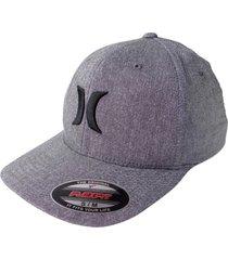 gorra para hombre hurley-gris oscuro