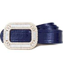 cinturon ivette azul carven