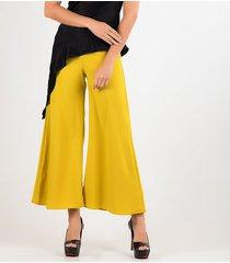 pantalones amarillo derek 818261