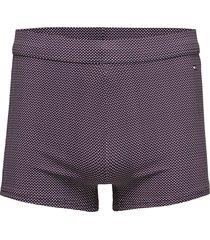 knit trunk print swimwear briefs & speedos blå tommy hilfiger